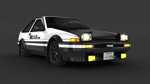 takumi ae86 model