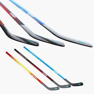 Ice Hockey Stick 3D