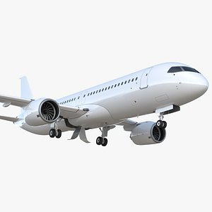 3D model Narrow Body Airliner Rigged