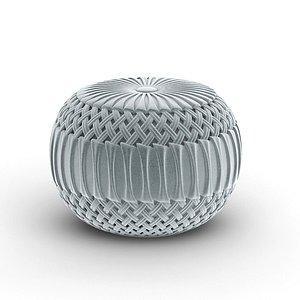 3D pouf surya