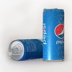 soda drink beverages 3D model