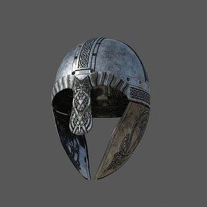 viking helmet 3D