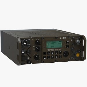 Tactical Military Radio M3TR 3D