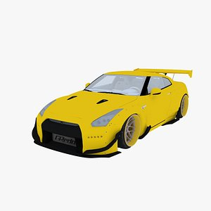 3D nissan r35
