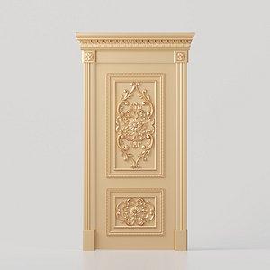 door interior design 3D