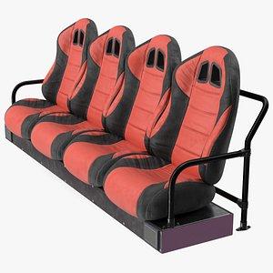 3D model Row Seats
