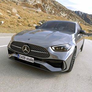 3D 2022 Mercedes-Benz C-class AMG