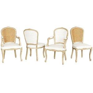 3D louis chair model
