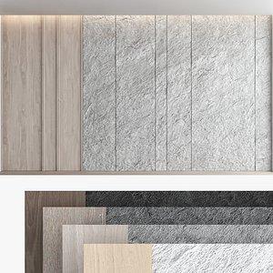 Decorative wall panel set 59 model