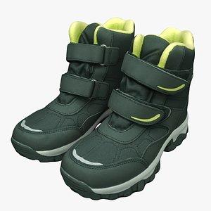 3D winter boots