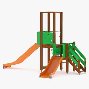 Lappset Activity Tower 01 3D model