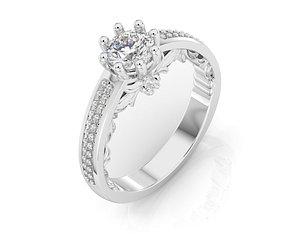 3D model jewelry jewellery fashion