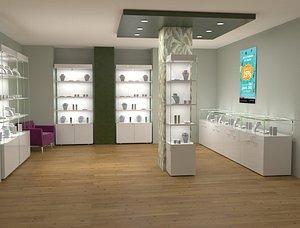 jewels shop 3D model