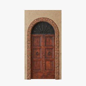 Exterior Door V1 3D model