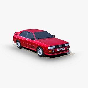Audi Quattro 1980 3D