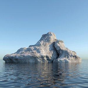 island land rock model
