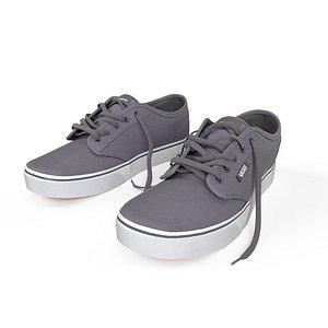 shoes vans 3D model