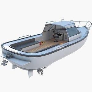 Sea Boat1 3D