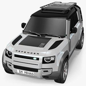 3D Land Rover Defender Explorer Pack Exterior Only