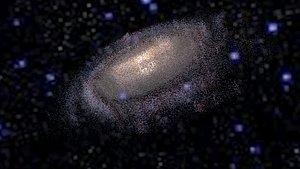 Milky Way Galaxy 3D