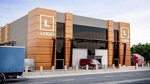 Factory Exterior Design 3D model