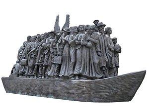 Boat Refugees 3D