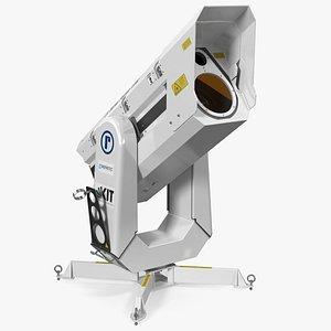 3D raymetrics lidar scanner visor model