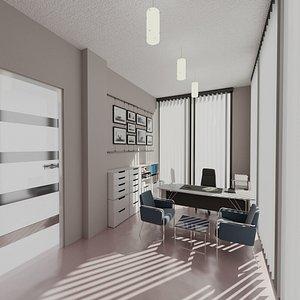 interior office model