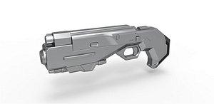 blaster mib 3D