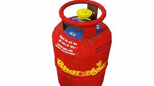 lpg gas cylinder model