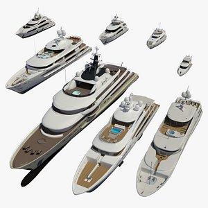 3D yacht redshift