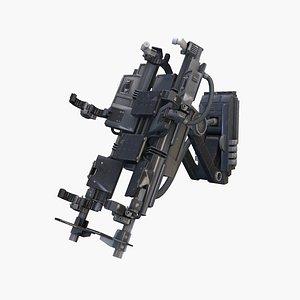 chair torture 3D model