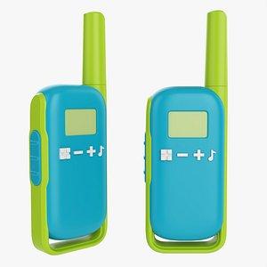 3D talkie radio walkie model