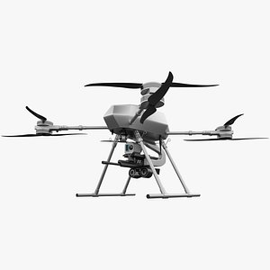 Military Armed Drone 3D