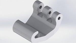 latch 3D model