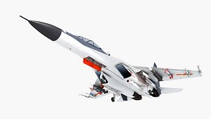 j-16 -30 su-30 3D model