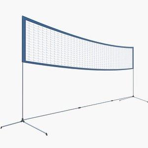 3D Badminton Net