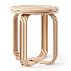 3D accent stool ria model