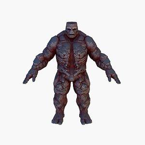 monster stone model