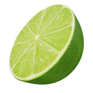 Lime half 2 3D model
