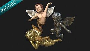 cherub angel 3D