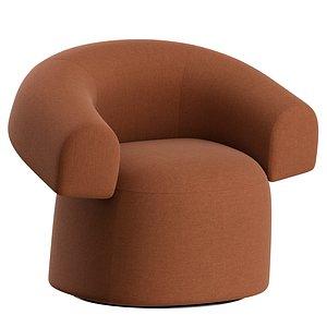 moroso ruff chair 3D
