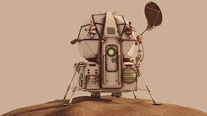 3D model Dummy landing module