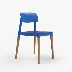 Iris Cafe Chair blue
