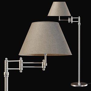 3D Floor lamp P-028 model