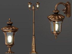 street lamp model