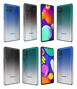 3D Samsung Galaxy F62 And M62
