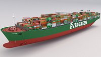 Ever Given Evergreen Container Ship