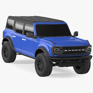 3D Ford Bronco 2021 Four Door Exterior Only model