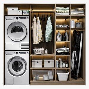3D Laundry Room 0005